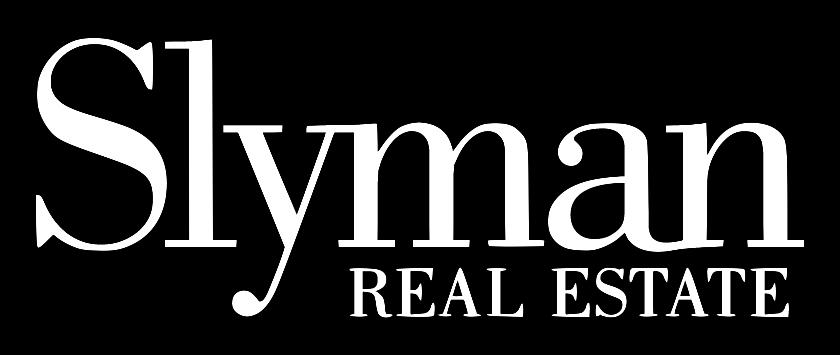 Slyman Real Estate wht logo